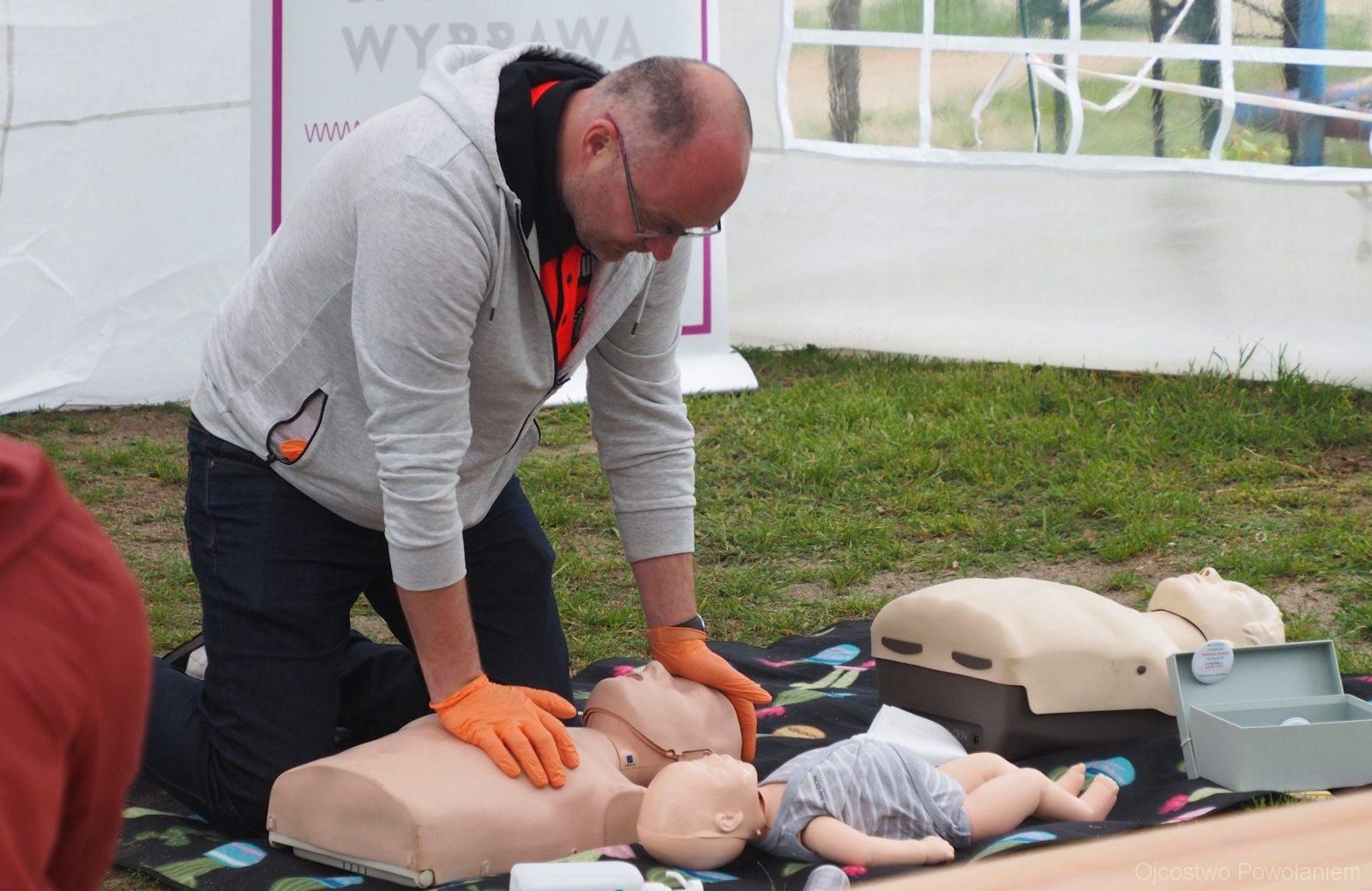 Szkolenie z pierwszej pomocy - fot. KSOP